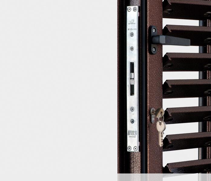 serratura con cilindro europeo copia